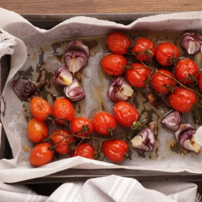 Millet with Roasted Tomatoes and Chickpeas recipe - step 5