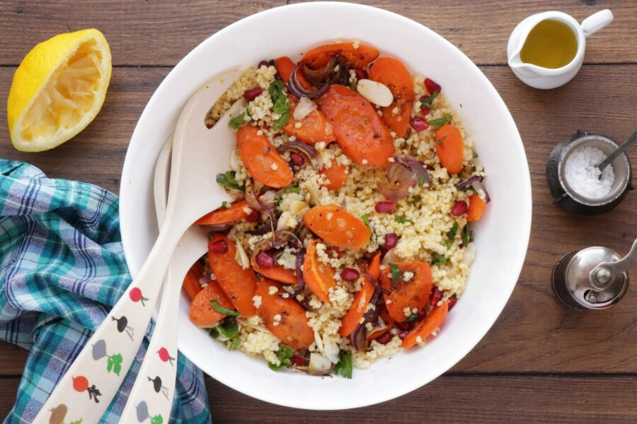 Moroccan Carrot Salad with Millet recipe - step 6