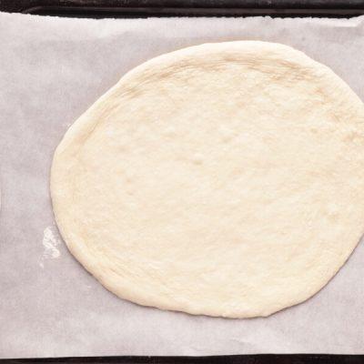 Pizza with Pesto, Mozzarella, and Microgreens recipe - step 3