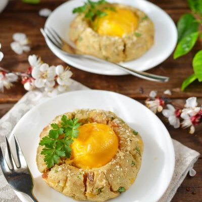 Potato Egg Nest Recipe-How To Make Potato Egg Nest-Delicious Potato Egg Nest