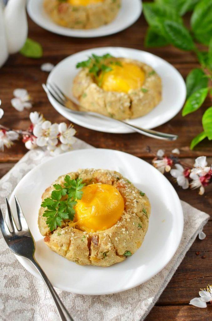 Potato Egg Nest