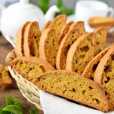Pumpkin Biscotti Recipe-How To Make Pumpkin Biscotti-Delicious Pumpkin Biscotti