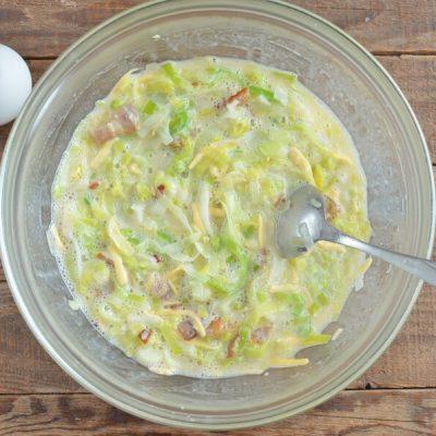 Quiche Leekraine recipe - step 4