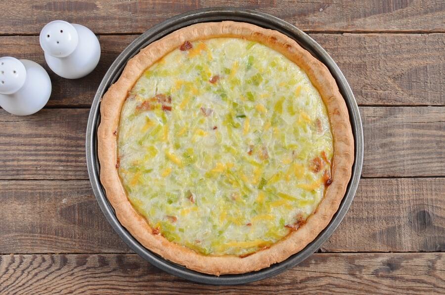 Quiche Leekraine recipe - step 6
