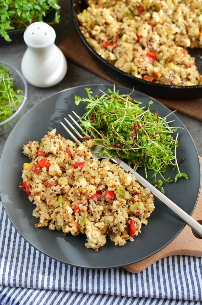 Quinoa Unstuffed Peppers