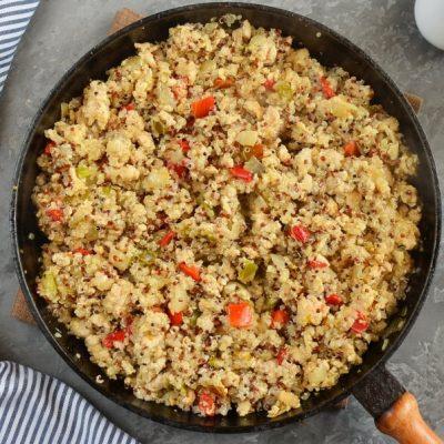 Quinoa Unstuffed Peppers recipe - step 4