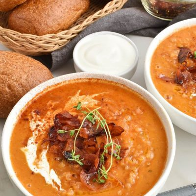 Red lentil & chorizo soup Recipes-Homemade Red lentil & chorizo soup-Delicious Red lentil & chorizo soup