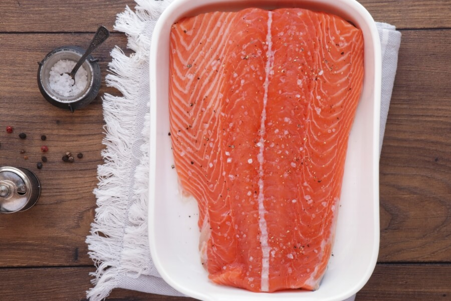 Slow Roasted Citrus Salmon recipe - step 2