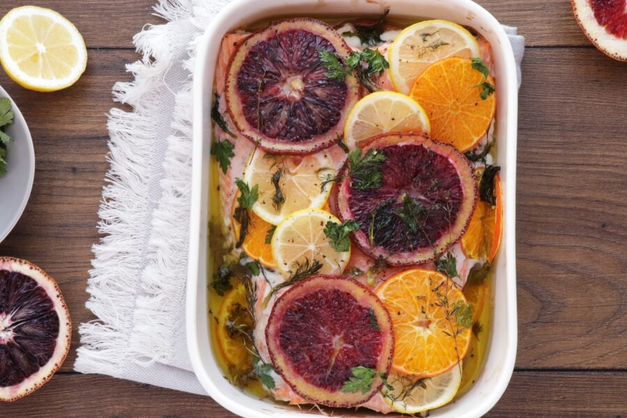 Slow Roasted Citrus Salmon recipe - step 5