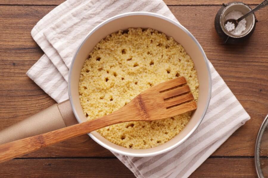 Spinach Millet Egg Bake recipe - step 2