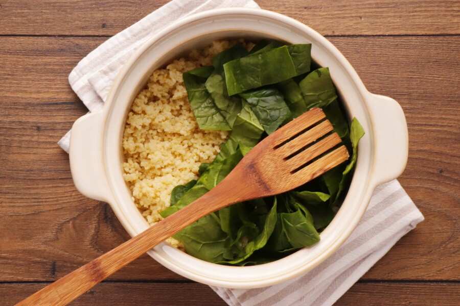Spinach Millet Egg Bake recipe - step 4