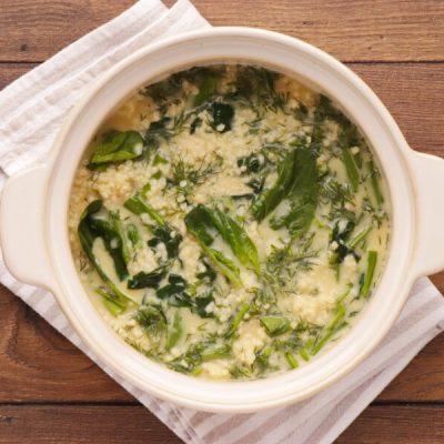 Spinach Millet Egg Bake recipe - step 5