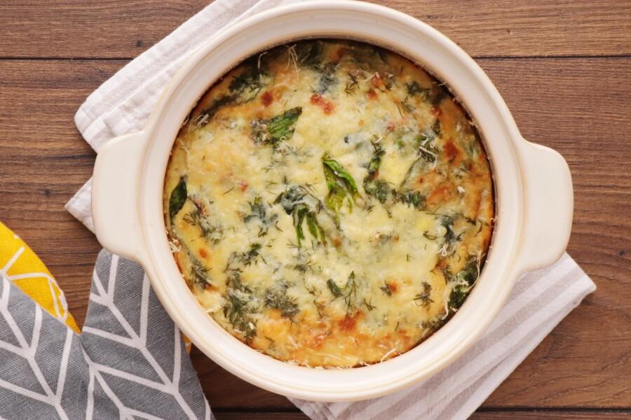 Spinach Millet Egg Bake recipe - step 7