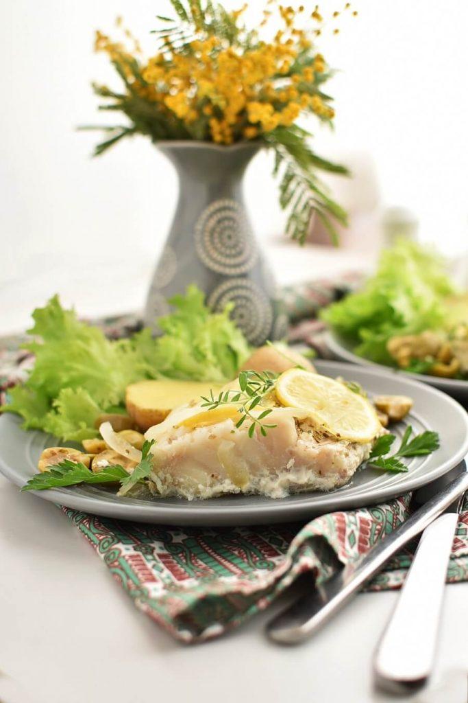 Delicious Mediterranean style fish