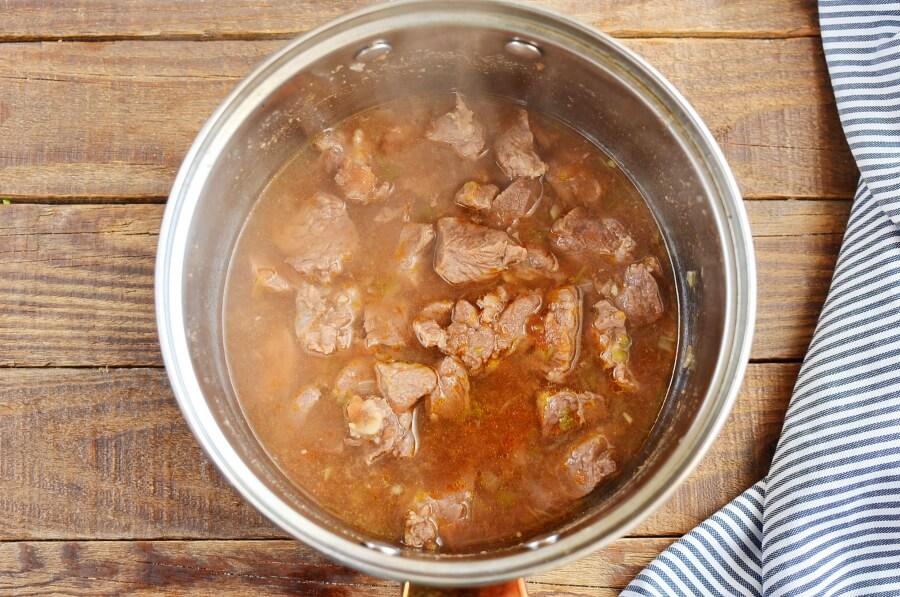 Tender Salsa Beef recipe - step 2