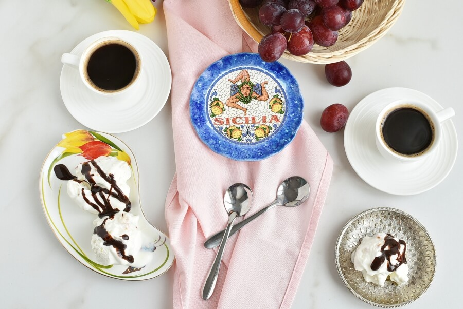 How to serve Torrone Semifreddo