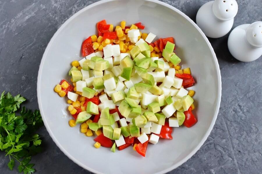 Vegetarian Ceviche Salad recipe - step 3