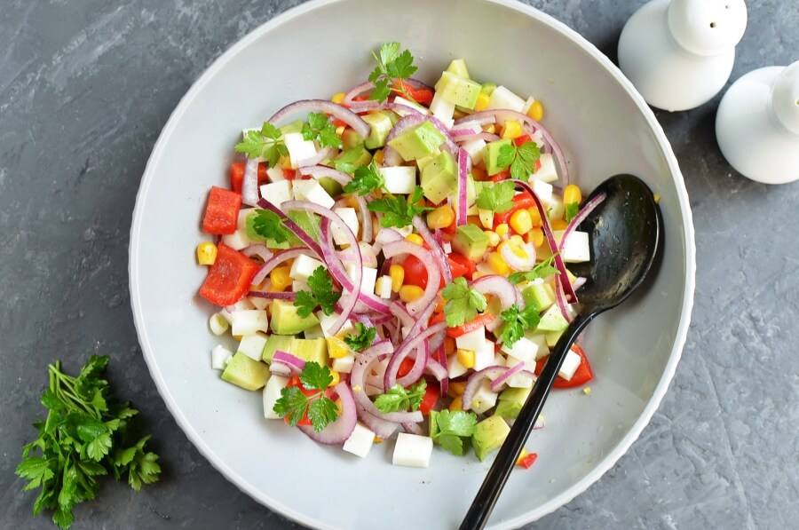 How to serve Vegetarian Ceviche Salad