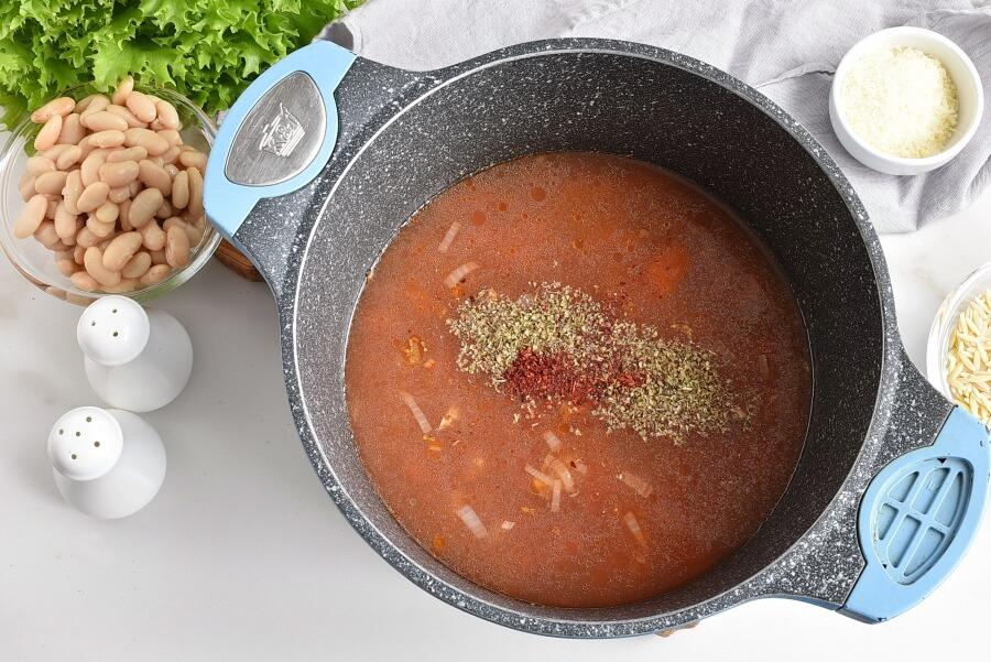 White Bean Soup with Escarole recipe - step 2