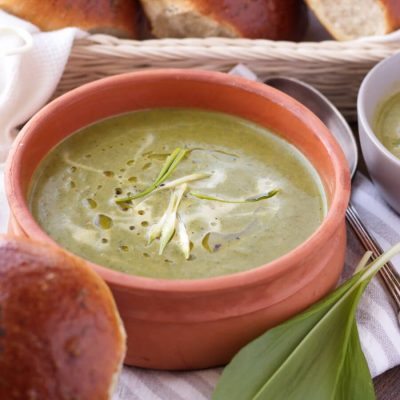 Wild Garlic & Nettle Soup Recipe-How to Make Wild Garlic Nettle Soup-Easy Healthy Spring Soup