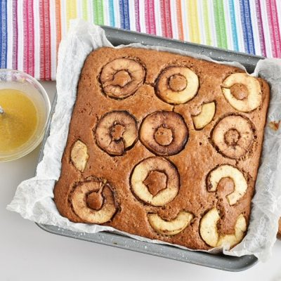 Apple, Cinnamon and Ginger Drizzle Cake recipe - step 8