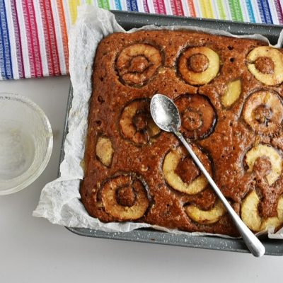 Apple, Cinnamon and Ginger Drizzle Cake recipe - step 10