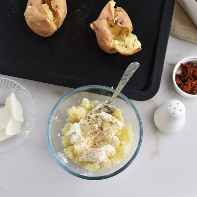 Baked Potatoes with Cream Cheese recipe - step 5