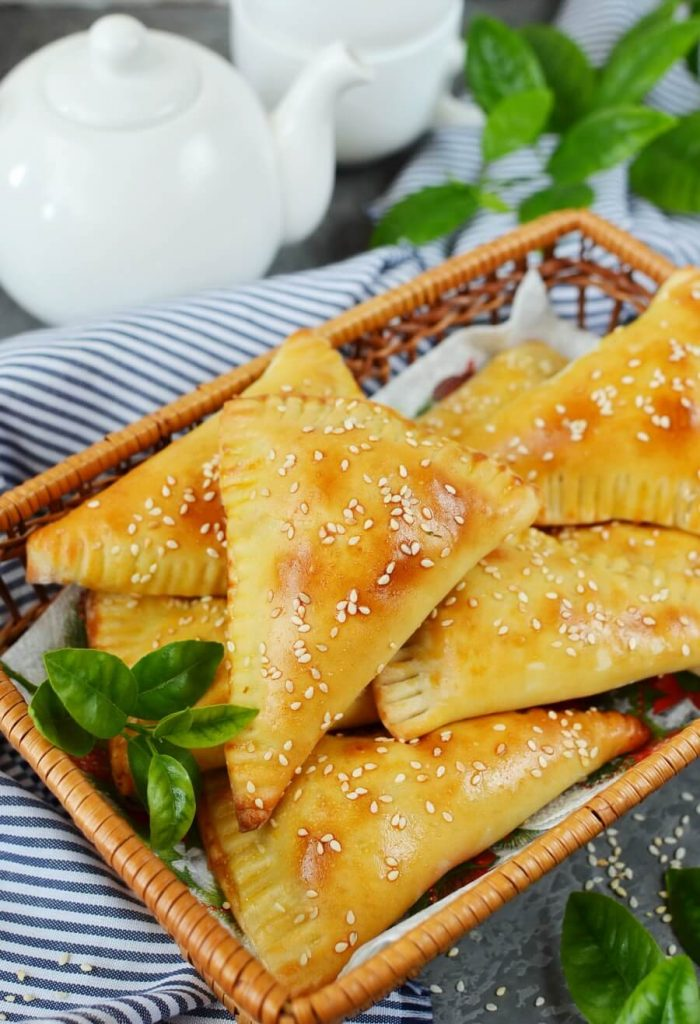 Saucy Mexican Beef and Cheese Empanadas