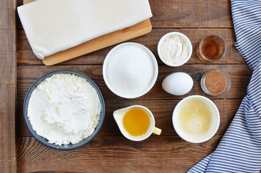 Ingridiens for Best Sopapilla Cheesecake