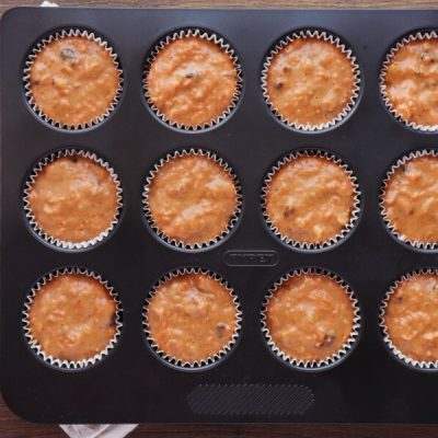 Carrot Cupcakes with Honey Cream Cheese recipe - step 9