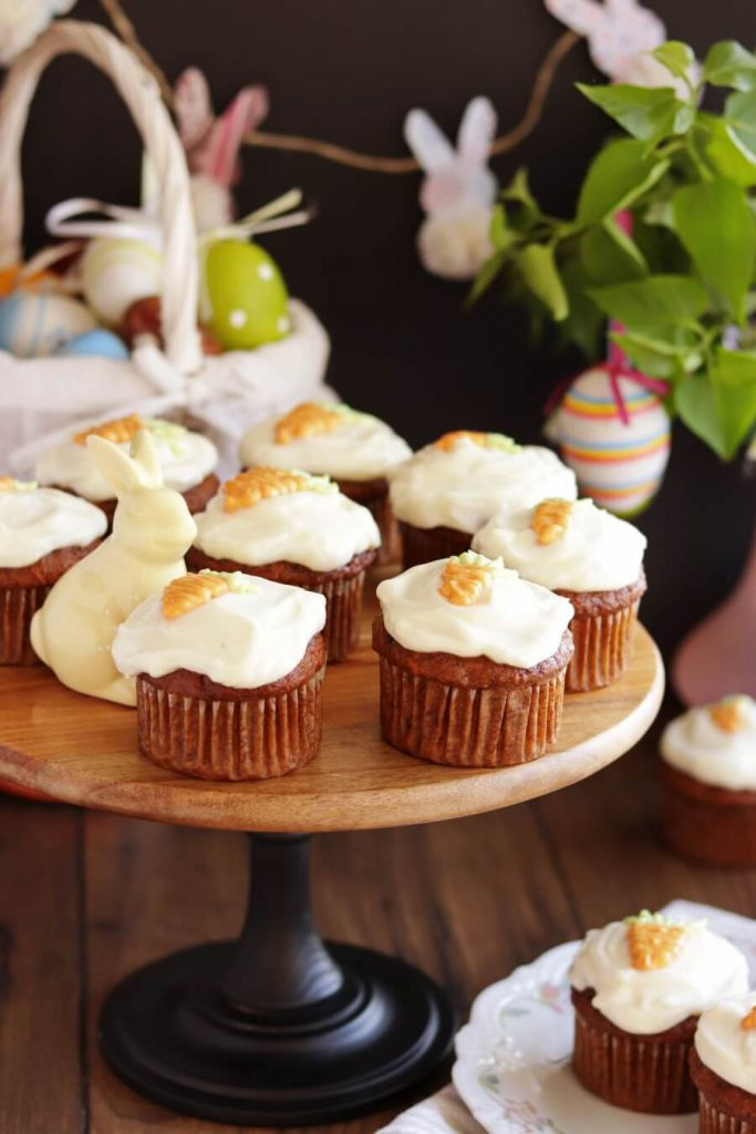 Easter Cupcakes with Sweet Frosting