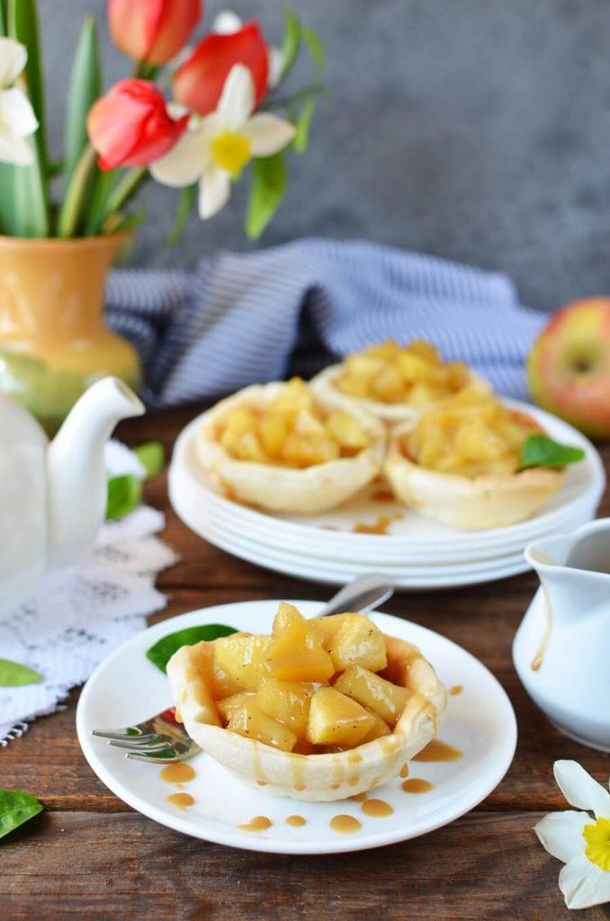 Churro Apple Pies
