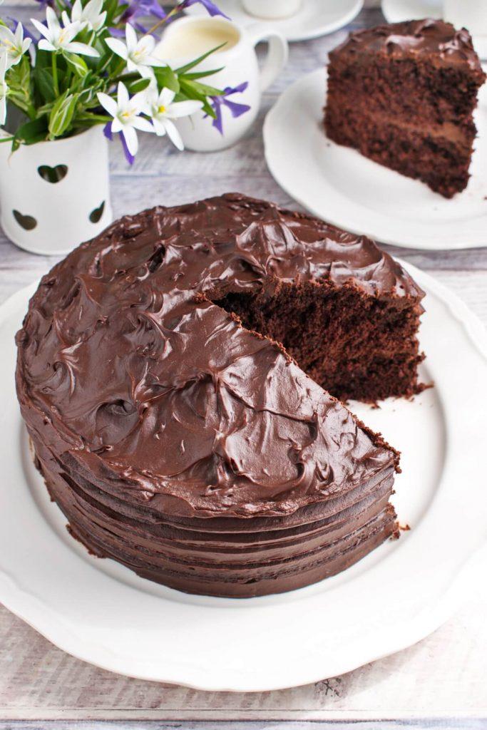 Delicious and rich cake recipe