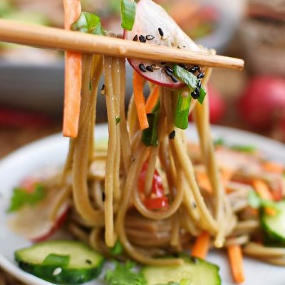 Cold Soba Noodle Salad Recipes–Homemade Cold Soba Noodle Salad–Easy Cold Soba Noodle Salad