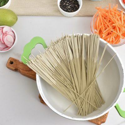 Cold Soba Noodle Salad recipe - step 1