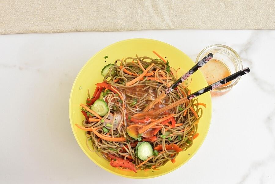 Cold Soba Noodle Salad recipe - step 4