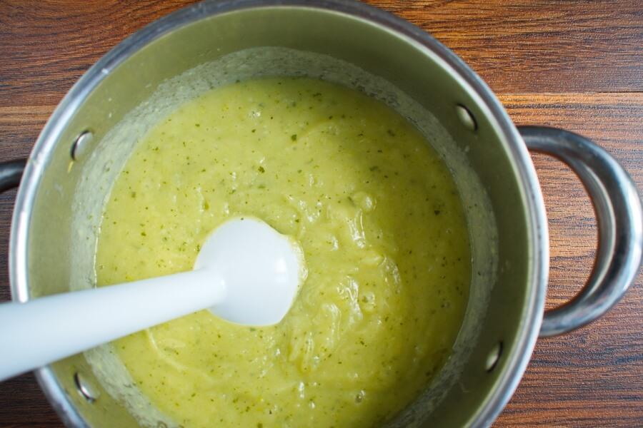 Creamy Vegan Potato Leek Soup recipe - step 5