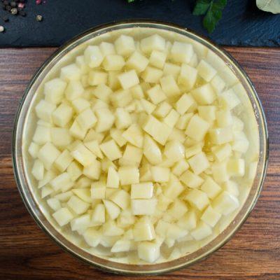 Creamy Vegan Potato Leek Soup recipe - step 3