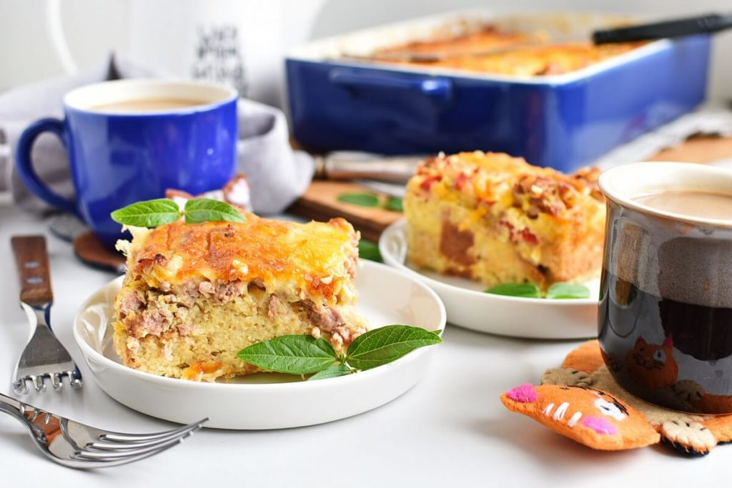 How to serve Easy Breakfast Strata