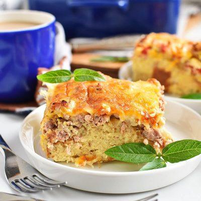 Easy Breakfast Strata Recipes–Homemade Easy Breakfast Strata–Easy Easy Breakfast Strata
