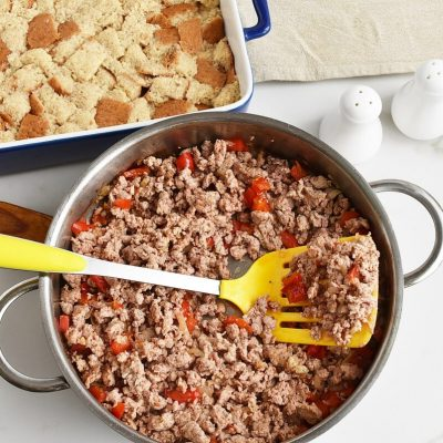 Easy Breakfast Strata recipe - step 2