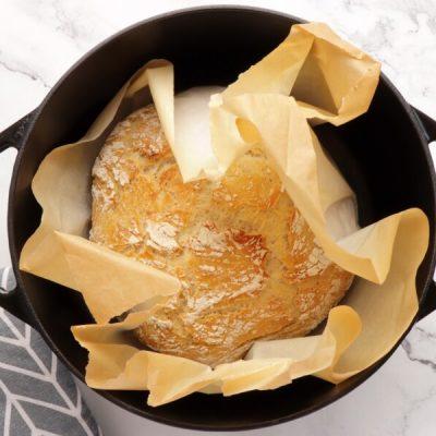 Easy Classic No Knead Bread recipe - step 6