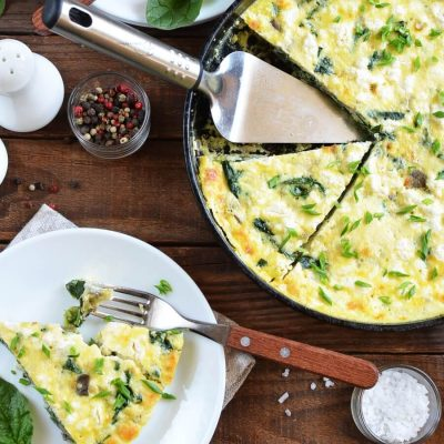 Easy Frittata Recipe-How To Make Easy Frittata-Delicious Easy Frittata