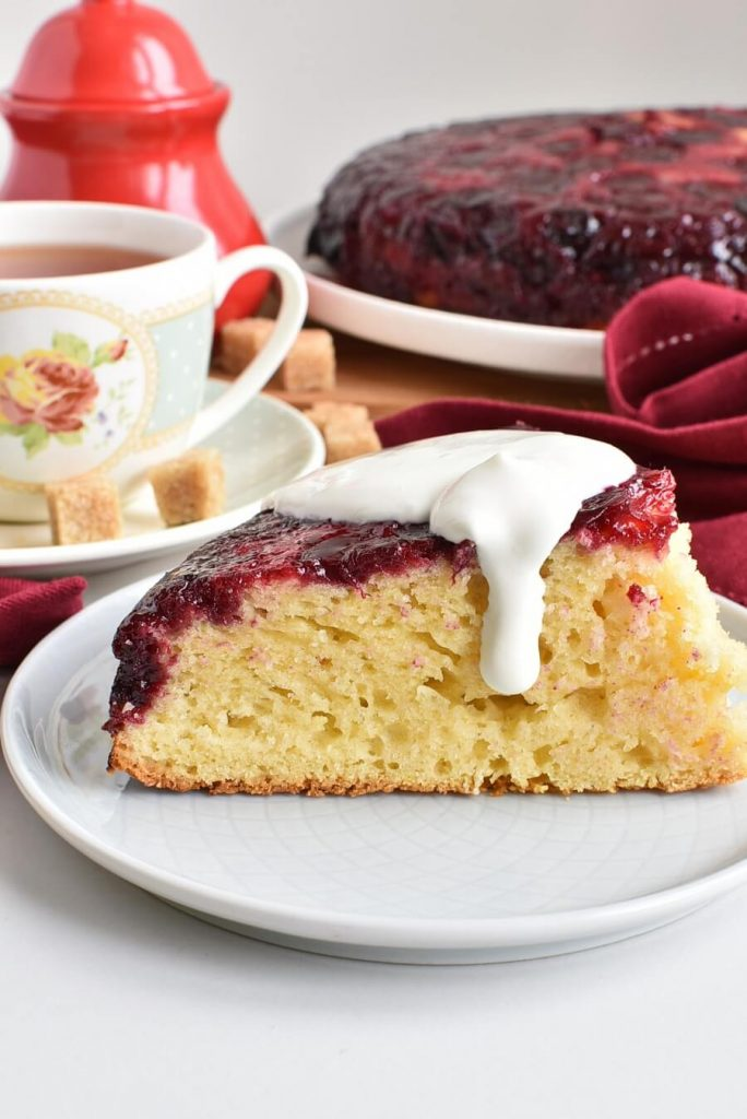 Delicious fruity cake