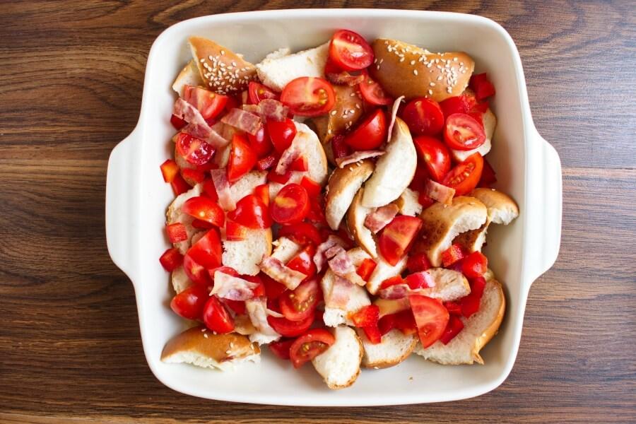 Everything Bagel Breakfast Casserole recipe - step 2