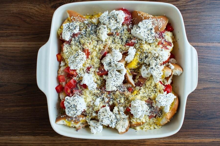 Everything Bagel Breakfast Casserole recipe - step 5