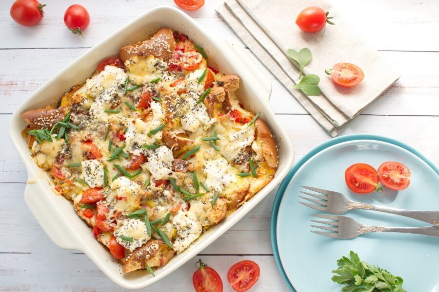 Everything Bagel Breakfast Casserole recipe - step 7