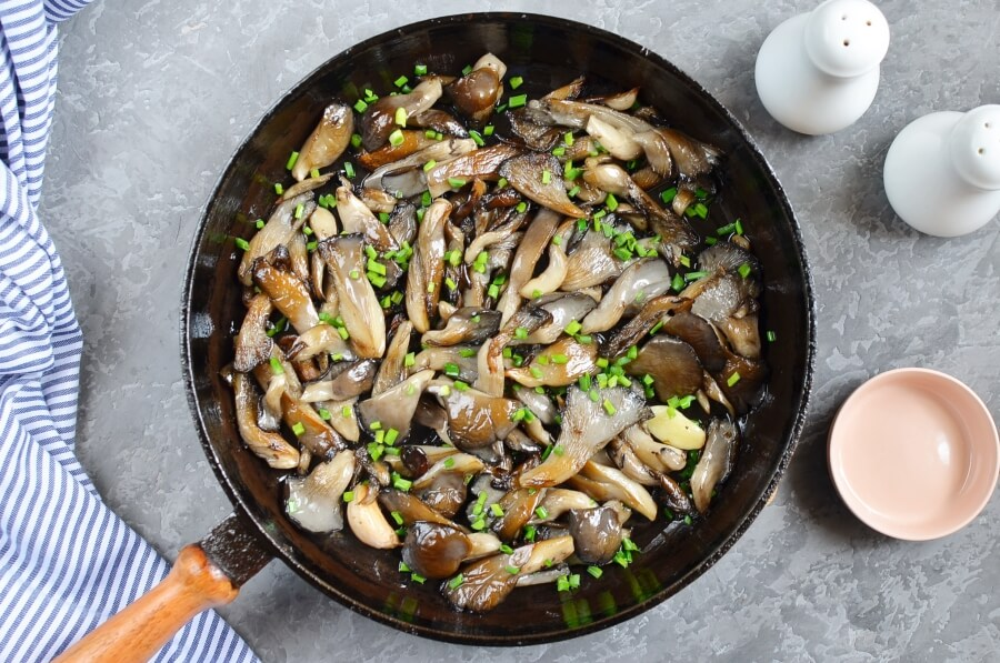 Fried Oyster Mushrooms recipe - step 4
