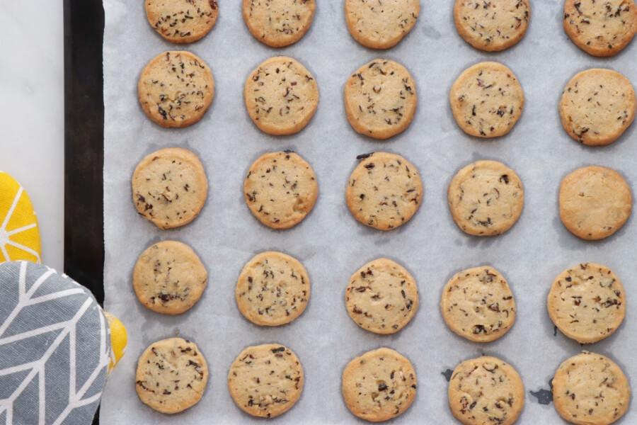Glazed Hibiscus Shortbread Cookies recipe - step 11