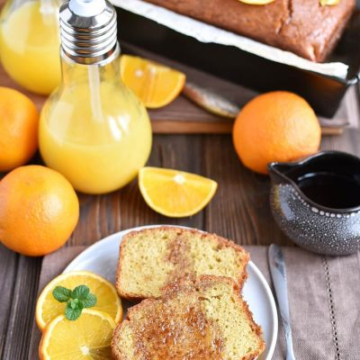 Gluten Free Orange Drizzle Cake Recipes-Homemade Gluten Free Orange Drizzle Cake-Delicious Gluten Free Orange Drizzle Cake